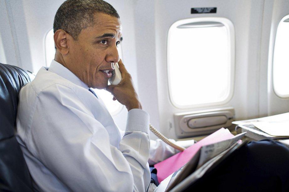 Sur cette photo du 1er août, Barack Obama... (Photo: Reuters)