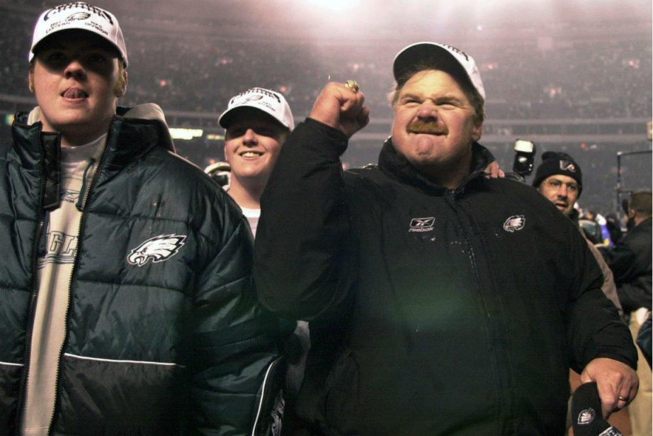 Le fils d'Andy Reid, Garrett (à gauche), est... (Photo Chris Gardner, archives Associated Press)