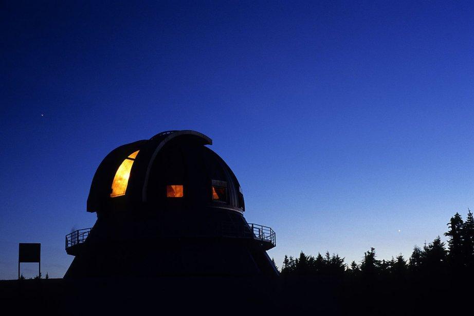 Selon le directeur du Parc national du Mont-Mégantic,... (Photo: fournie par le parc national du Mont-Mégantic)
