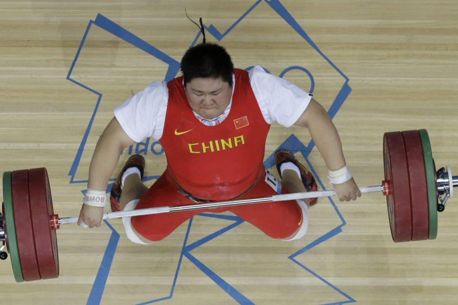L'haltérophile chinoise Zhou Lulu a remporté la médaille... (Photo: AP)