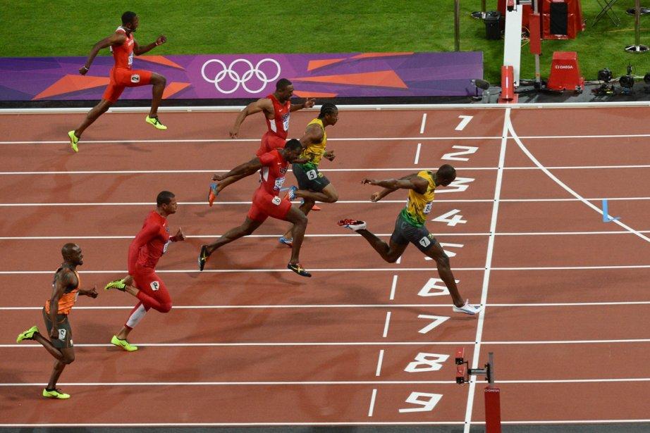 Usain Bolt a signé un chrono de 9,63... (Photo: AFP)