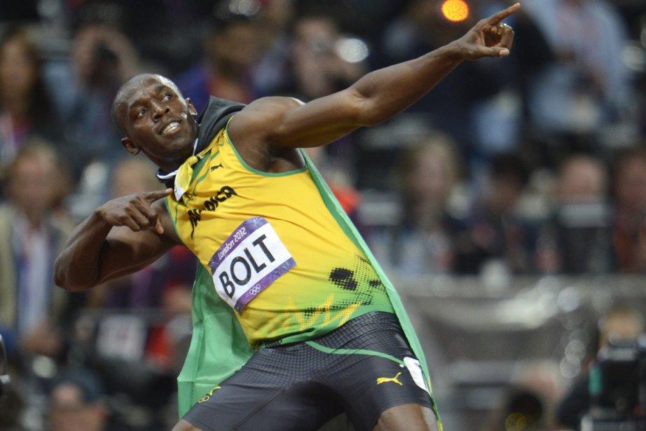 Usain Bolt... (Photo: Bernard Brault, La Presse)