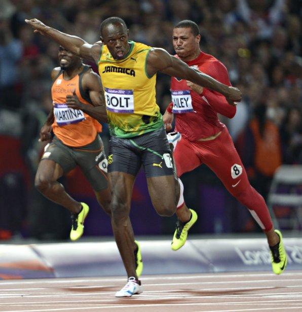 Le Jamaïcain Usain Bolt a gagné l'or olympique du 100... | 2012-08-05 00:00:00.000