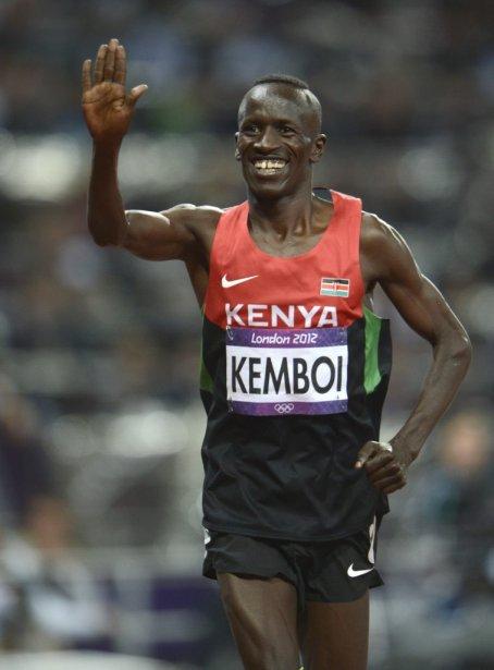 Le Kényan Ezekiel Kemboi a triomphé au 3000 mètres steeple. | 5 août 2012