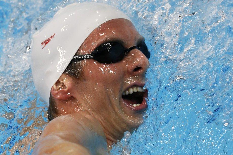 Le Canadien Ryan Cochrane a remporté la médaille... (PHOTO JULIO CORTEZ, ASSOCIATED PRESS)