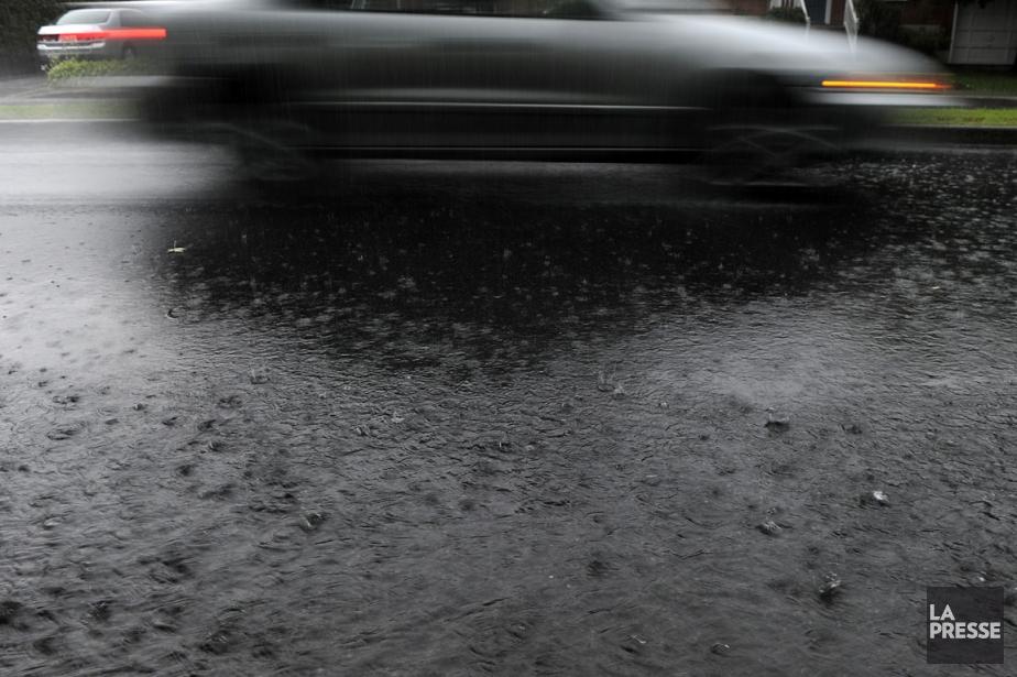 Plus de 200millimètres de pluie... (Photo Bernard Brault, archives La Presse)