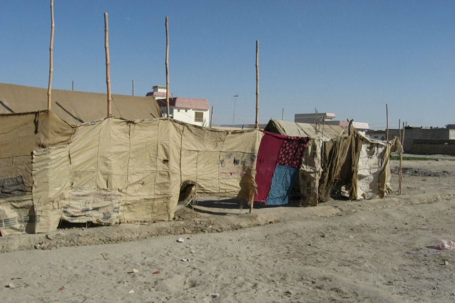 Un campement kouchi en Afghanistan.... (Photo archives La Presse)