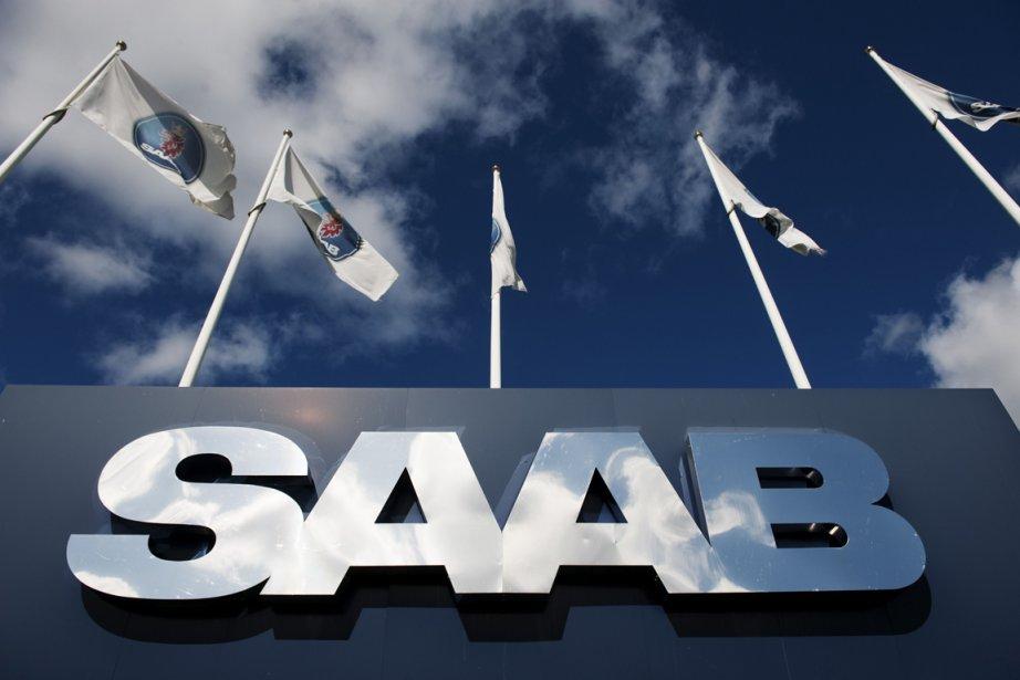Les constructeurs automobiles Spyker et Saab... (PHOTO JONATHAN NACKSTRAND, AFP)