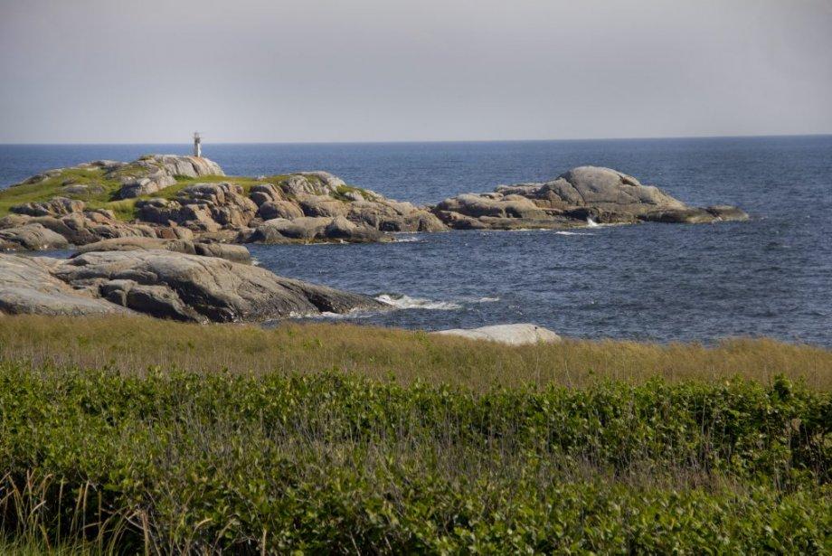 Pointe et phare à la Rivière au tonnerre. | 6 août 2012