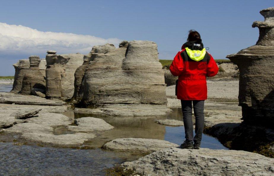 Monolithe de Longue-Pointe. | 6 août 2012