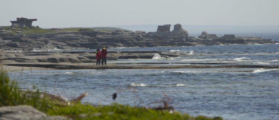 Paysage de l'Île nue. | 6 août 2012