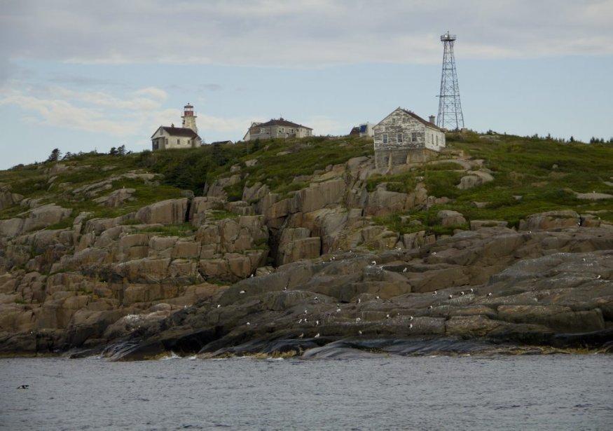 Le phare de l'Île du Corossol de Sept-Îles. | 6 août 2012