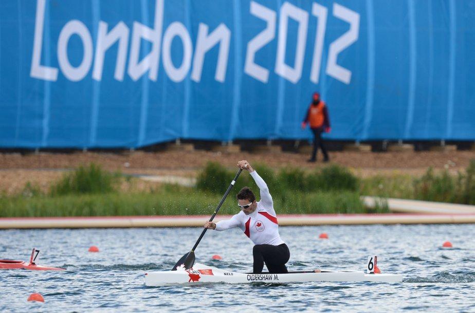 Le Canadien Mark Oldershaw s'est qualifié pour la finale du 1000 m en K1. | 6 août 2012