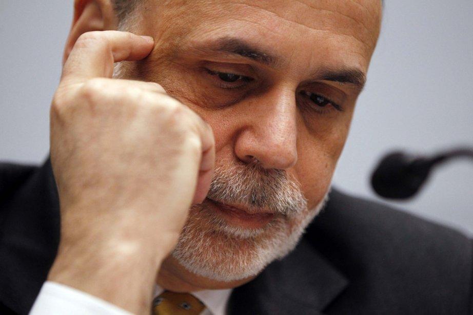 Ben Bernanke, président de la Réserve fédérale américaine.... (PHOTO JASON REED, REUTERS)