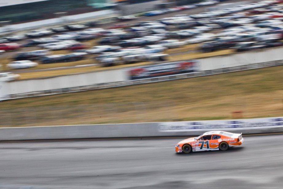 Patrice Brisebois en NASCAR. | 6 août 2012