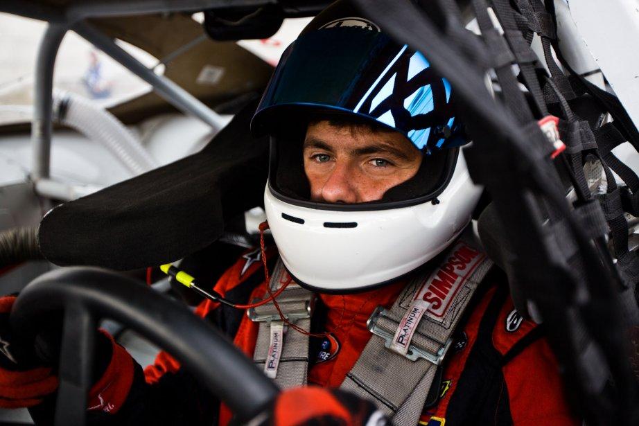 Alex Labbé, avant le départ de la NASCAR. | 6 août 2012