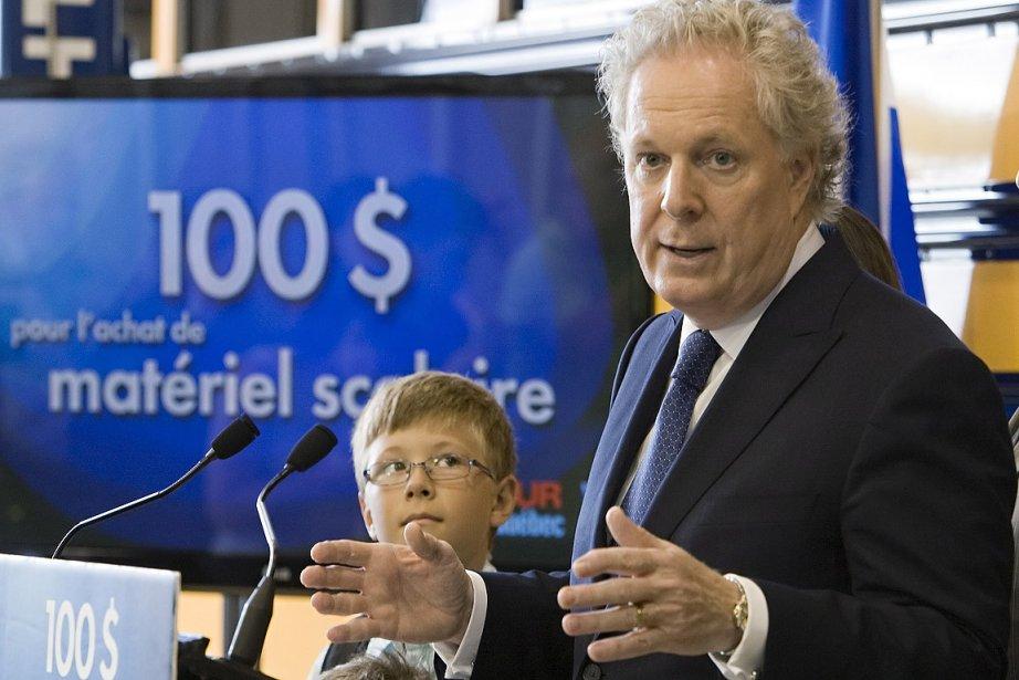 Le chef libéral a expliqué que l'argent permettrait... (Photo: PC)