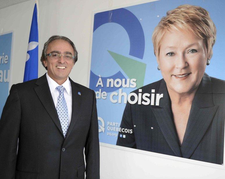 Le candidat péquiste dans Dubuc, Jean-Marie Claveau, mise... (Jeannot Lévesque)