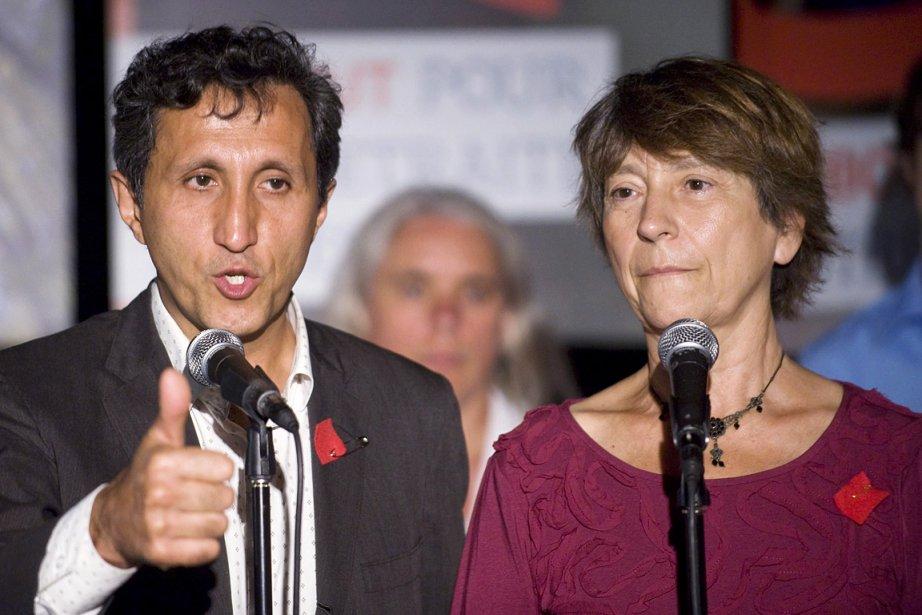 Amir Khadir et Françoise David, les deux porte-parole... (Photo: archives PC)
