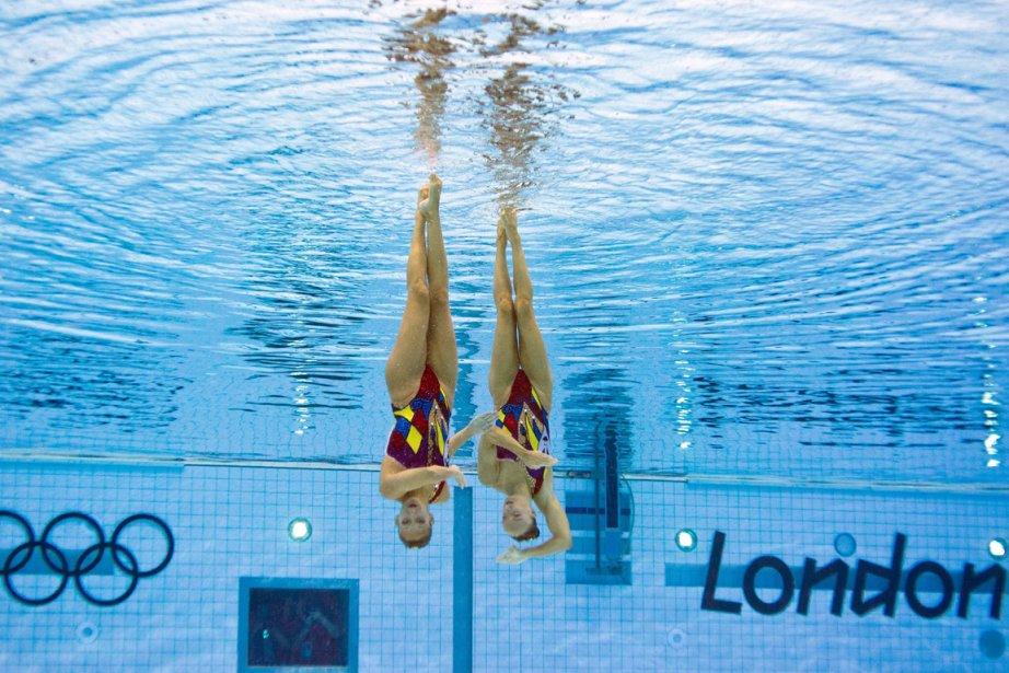 Même si Élise Marcotte et Marie-Pier Boudreau-Gagnon ont... (Photo: AFP)