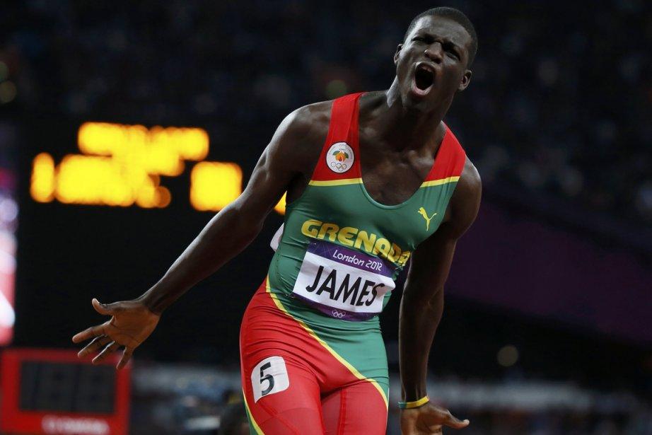 Kirani James, de la Grenade, a remporté la... (Photo: Reuters)