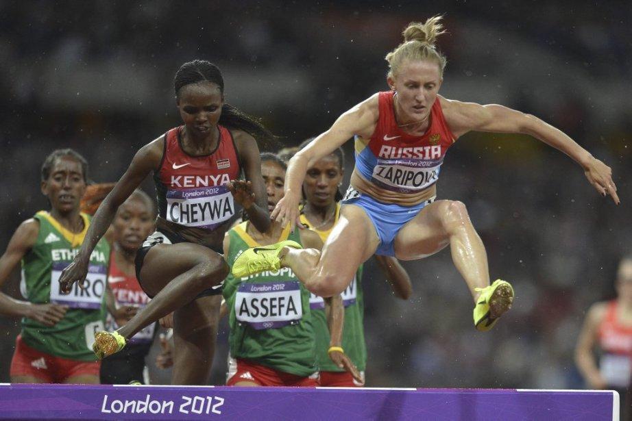 La Russe Yuliya Zaripova ( à droite) a décroché l'or au 3000 mètres steeple. | 6 août 2012