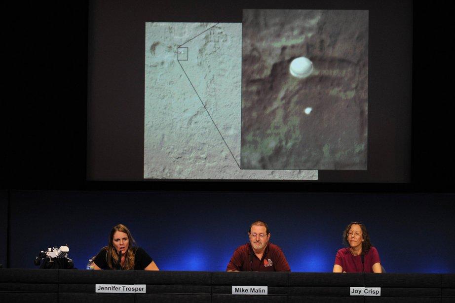 La NASA se délecte de nombreux clichés que... (Photo AFP)