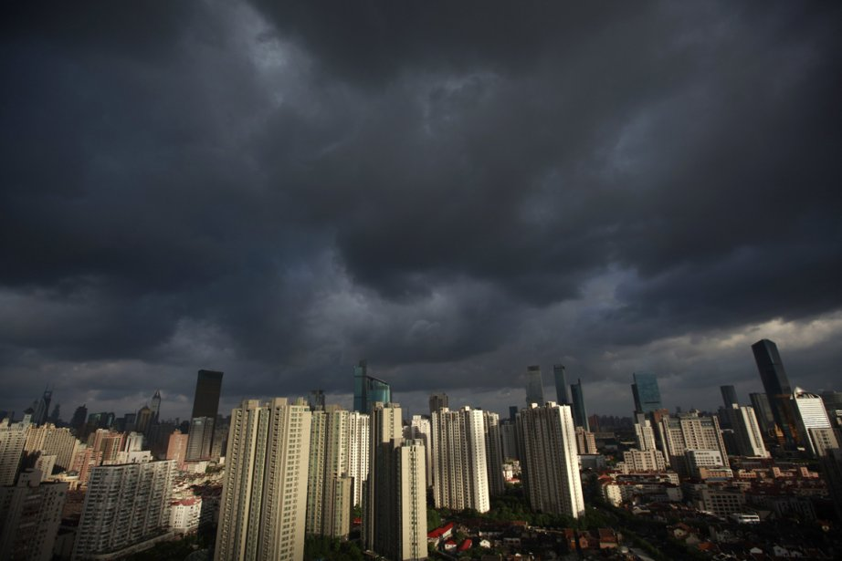 Le typhon Haikui devrait s'abattre sur les côtes... (PHOTO ALY SONG, REUTERS)