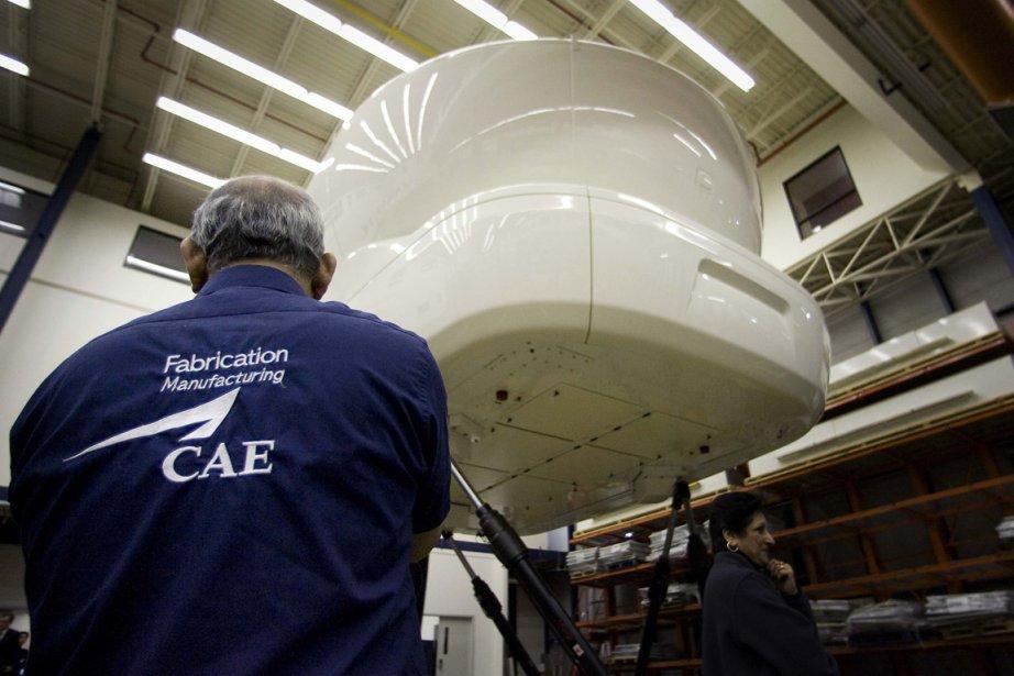 La multinationale montréalaise CAE( (PHOTO CHRISTINNE MUSCHI, REUTERS)