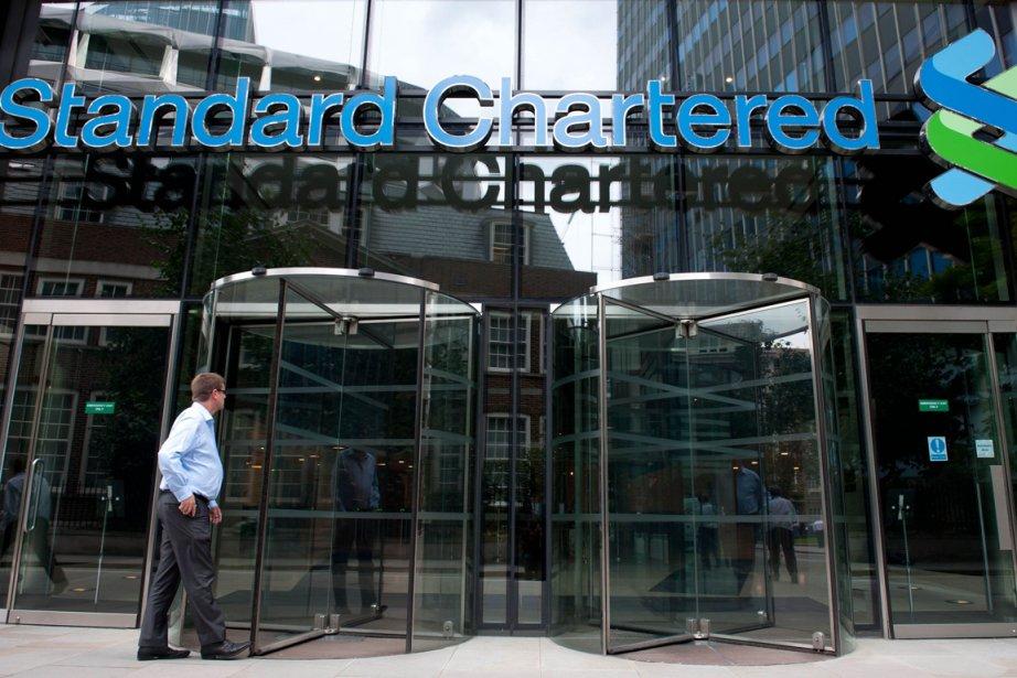 Standard Chartered est la dernière banque britannique... (PHOTO WILL OLIVER, AFP)