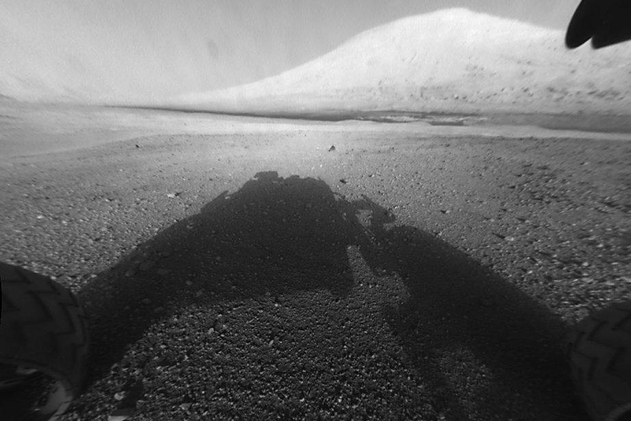 Curiosity, un robot de 900 kg et de... (Photo AFP)