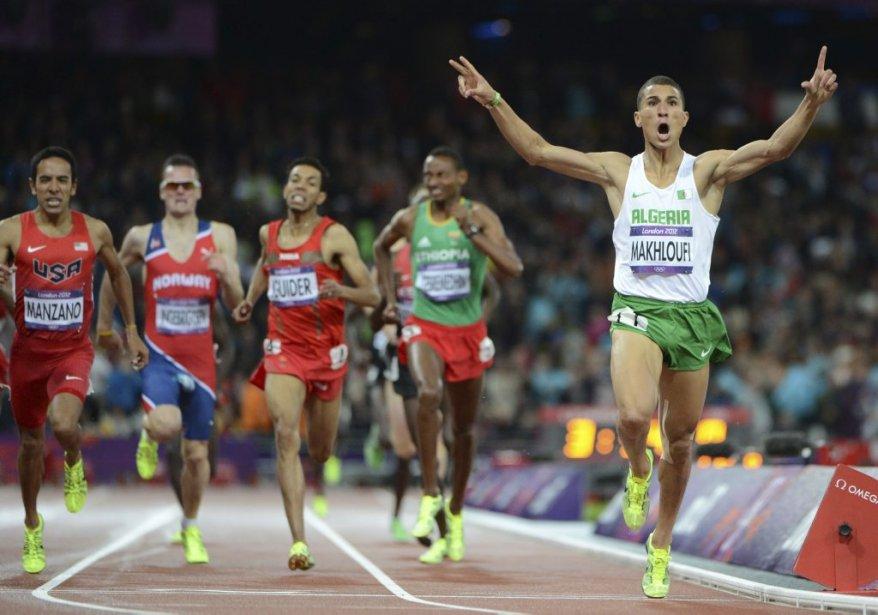 La finale du 1500 mètres chez les hommes, habituellement dominée par la délégation du Kenya, a plutôt été l'affaire de l'Algérien Taoufik Makhloufi, qui a récolté l'or. | 7 août 2012