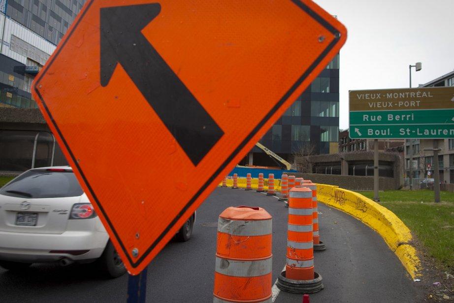 La quasi-paralysie qui frappe tous les grands chantiers... (Photo archives La Presse)