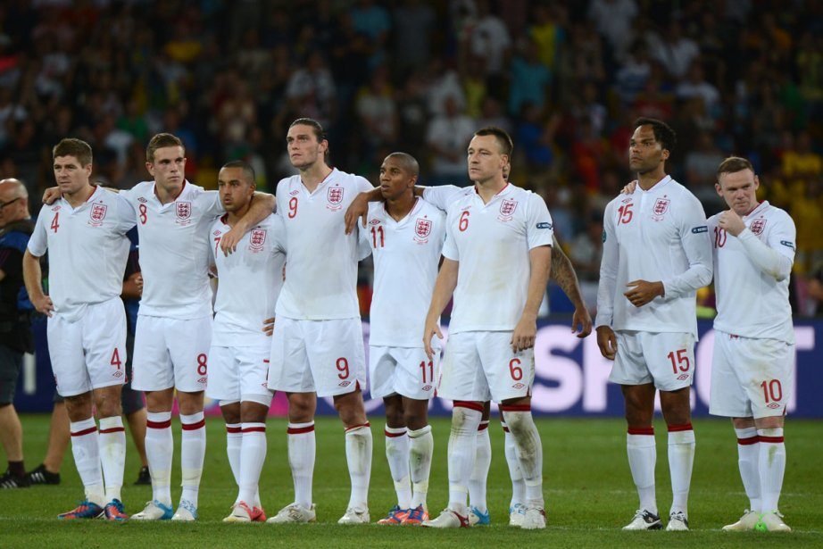 L'Angleterre a atteint les quarts de finale de... (Photo : Damien Meyer, AFP)