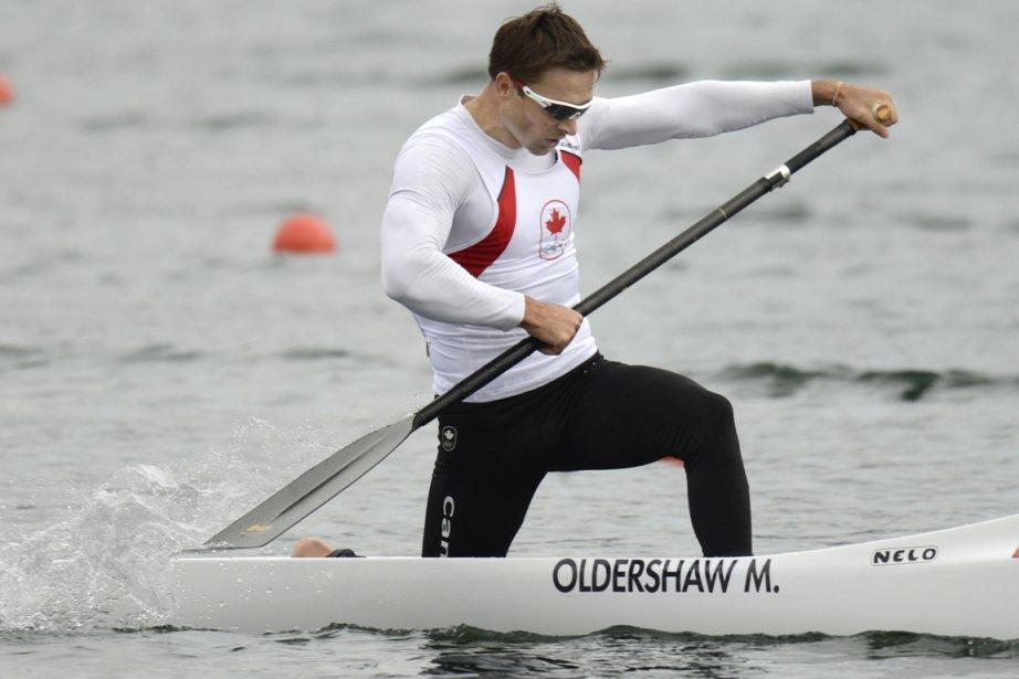 L'Ontarien Mark Oldershaw, un olympien de troisième génération, a mérité la médaille de bronze en canoë monoplace 1000 mètres. | 8 août 2012