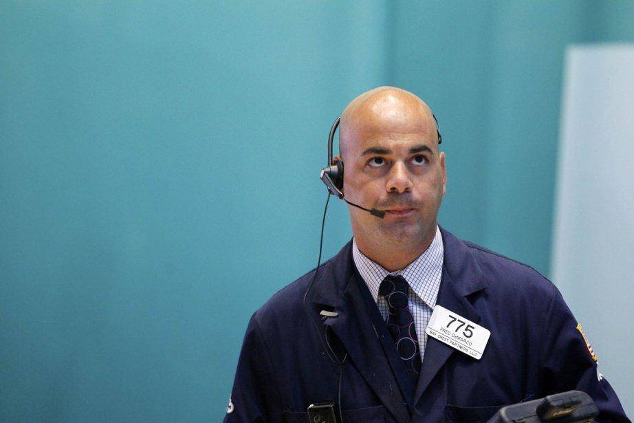 La Bourse de New York était en légère hausse... (PHOTO BRENDAN McDERMID, REUTERS)