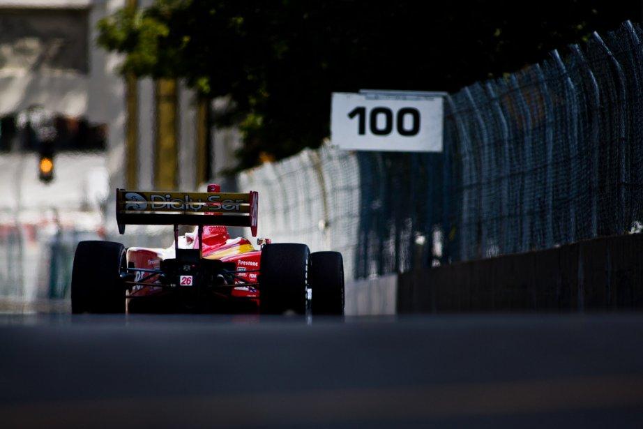 Carlos Munoz en série Indy Light. | 8 août 2012