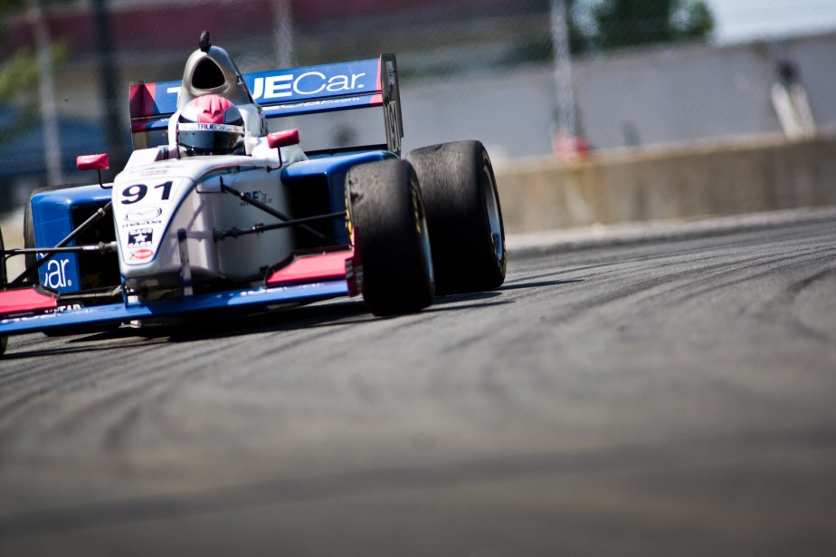 Ashley Freiberg en Star Mazda. | 8 août 2012