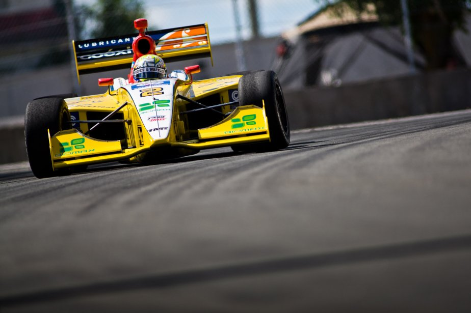 Gustavo Yacaman en Indy Light. | 8 août 2012