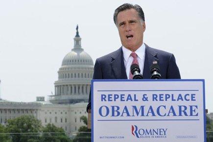 Ces déclarations ont alarmé les Républicains car Mitt... (Photo: Reuters)