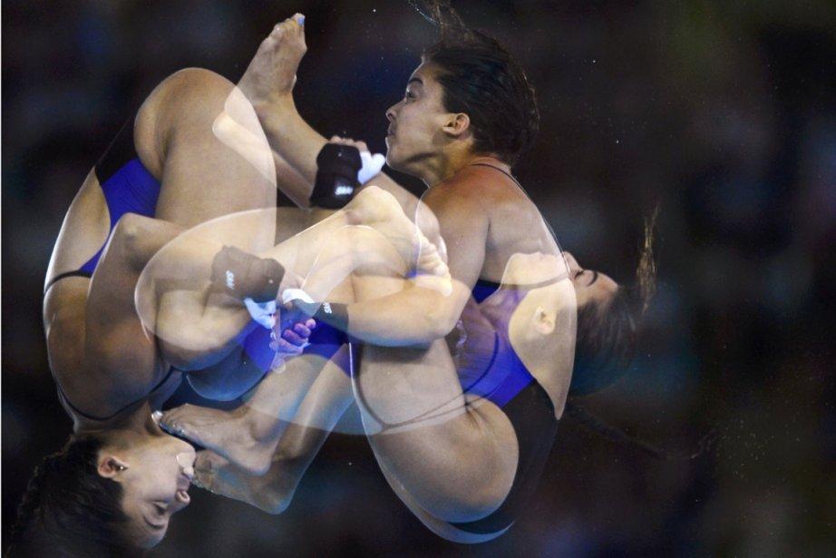La Canadienne Meaghan Benfeito s'est qualifiée pour la demi-finale au 10 m. | 8 août 2012