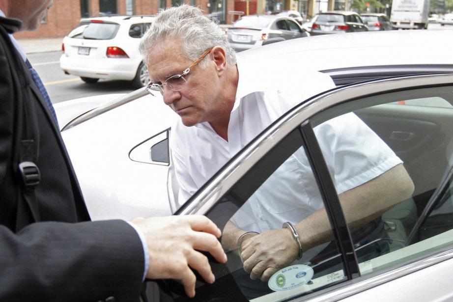 Tony Accurso lors de son arrestation ce matin.... (Photo Ivanoh Demers, La Presse)