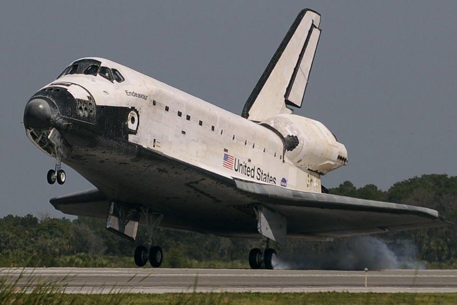 Endeavour en 2009.... (Photo archives Reuters)
