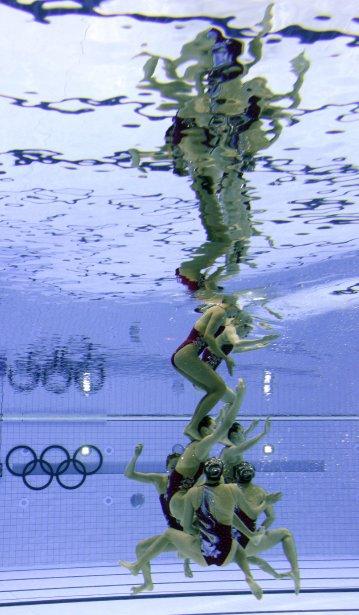 Les Chinoises ont terminé deuxièmes du programme technique. | 9 août 2012