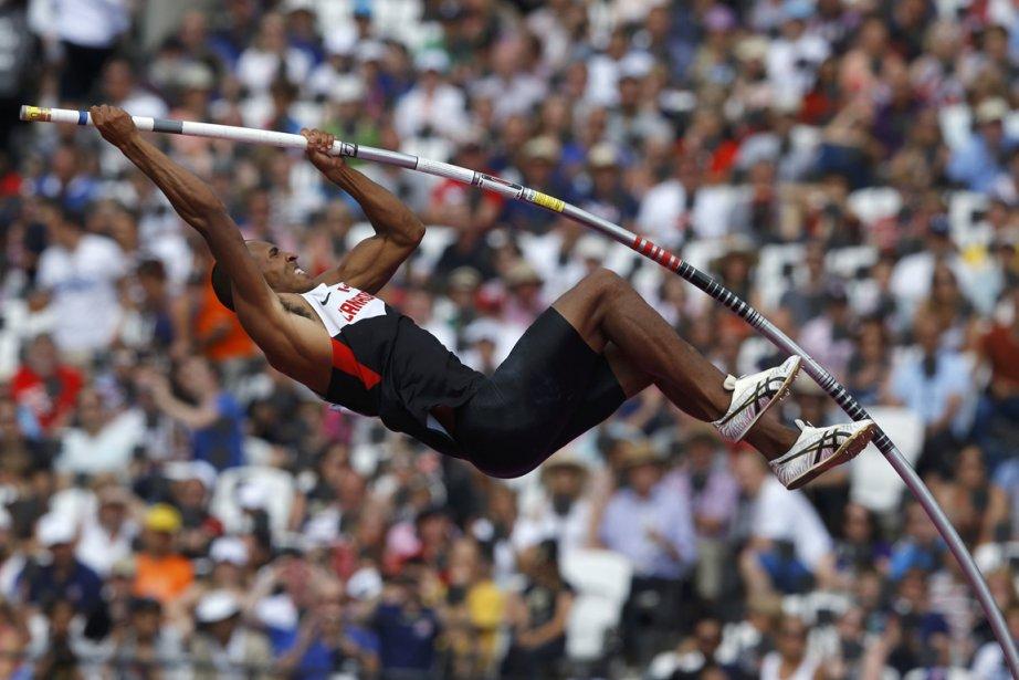 Le Canadien Damian Warner au saut à la perche. | 9 août 2012