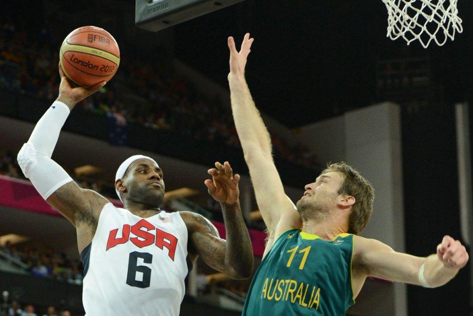 LeBron James est devenu mercredi le premier basketteur américain à réaliser un triple-double aux Jeux olympiques. | 9 août 2012