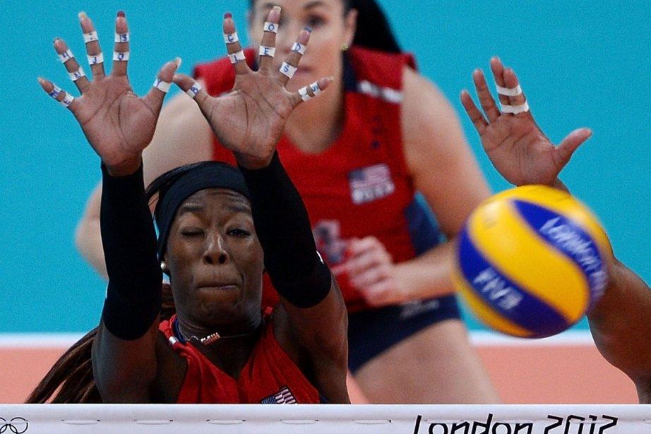Les volleyeuses américaines se sont qualifiées pour la finale du tournoi olympique en battant la Corée du Sud 3 à 0. | 9 août 2012