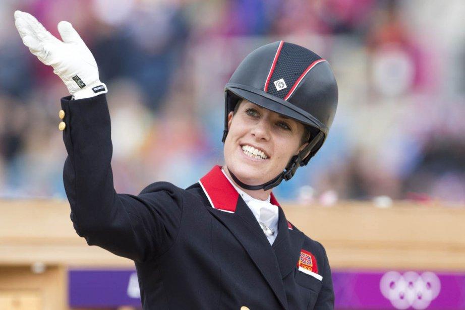 La Britannique Charlotte Dujardin a remporté l'épreuve individuelle de dressage. | 9 août 2012