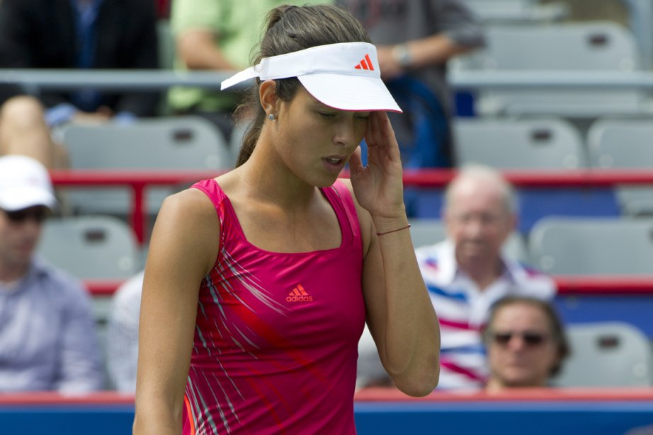 La Serbe Ana Ivanovic n'a pas gagné un... (Photo: PC)