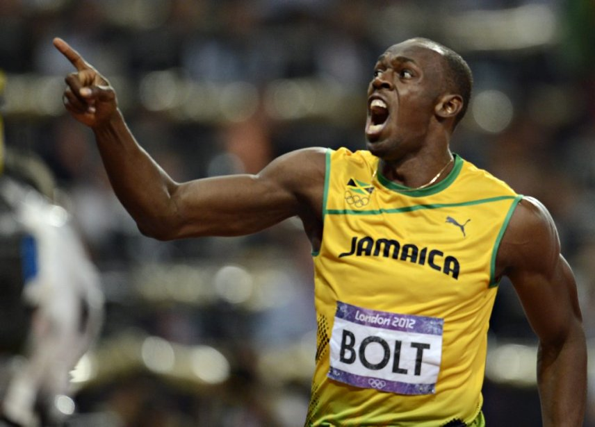 Déjà champion du 100 mètres à Londres, Usain Bolt a remporté le 200 mètres en 19,32 secondes. | 9 août 2012